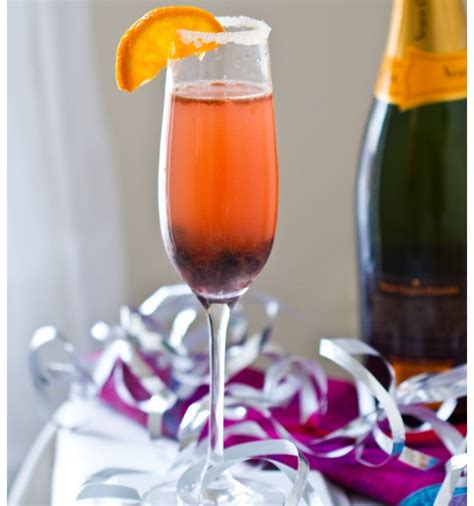 easy cocktails easy chagne cocktails yummmm pinterest