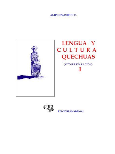 Lengua y Cultura Quechua 1 Verbo Perú