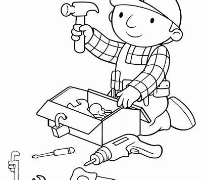 Coloring Pages Tools Construction Tool Signs Site