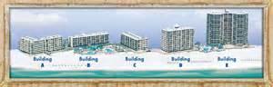 vacation condo floor plan overviews in panama city fl