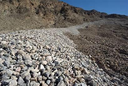 Debris Flow Valley Fan Death Geology