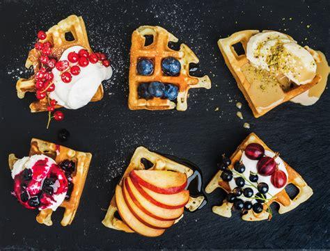 Create A Fresh Fruit Waffle Bar