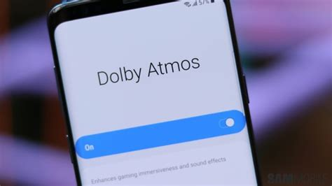 psa galaxy s8 and note 8 get dolby atmos support with android pie sammobile