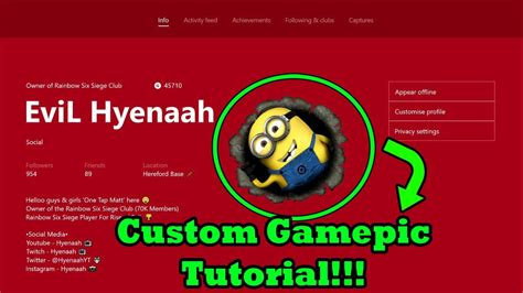 How To Get A Custom Xbox One Gamerpic Xbox One Insider