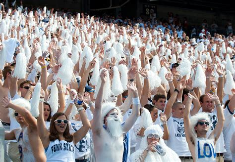 penn state student sections  college football espn
