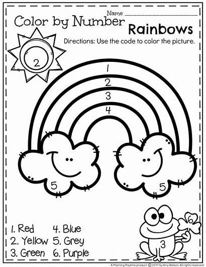Preschool March Worksheets Worksheet Printable Planning Playtime
