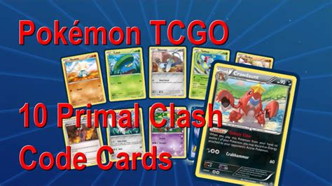 Maybe you would like to learn more about one of these? Pokémon TCGO 10 Primal Clash Code Cards + Free Hidden ...
