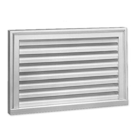 Decorative Gable Vents Canada by 8 Inch X 30 Inch X 2 Inch Polyurethane Functional Vertical