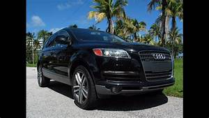 2009 Audi Q7 42 Quattro Prestige Phantom Black Metallic