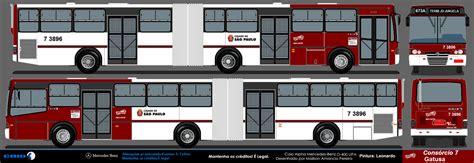 desenho de onibus paulista caio alpha vip transporte