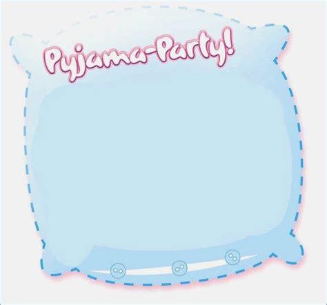 pyjama party einladung vorlage vorlagen avaryco