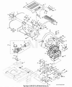 Scag Stt61v-28cat  S  N F5800001-f5899999  Parts Diagram For Engine  U0026 Attaching Parts