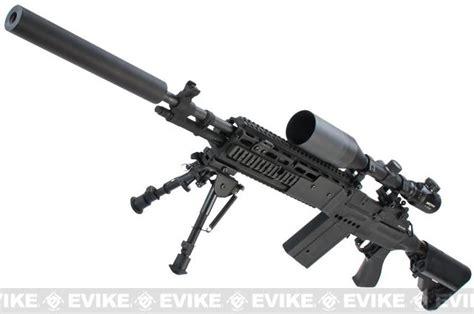evike class i custom m14 ebr airsoft aeg rifle package