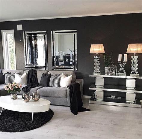 pin by tayler on mi salita living room grey black