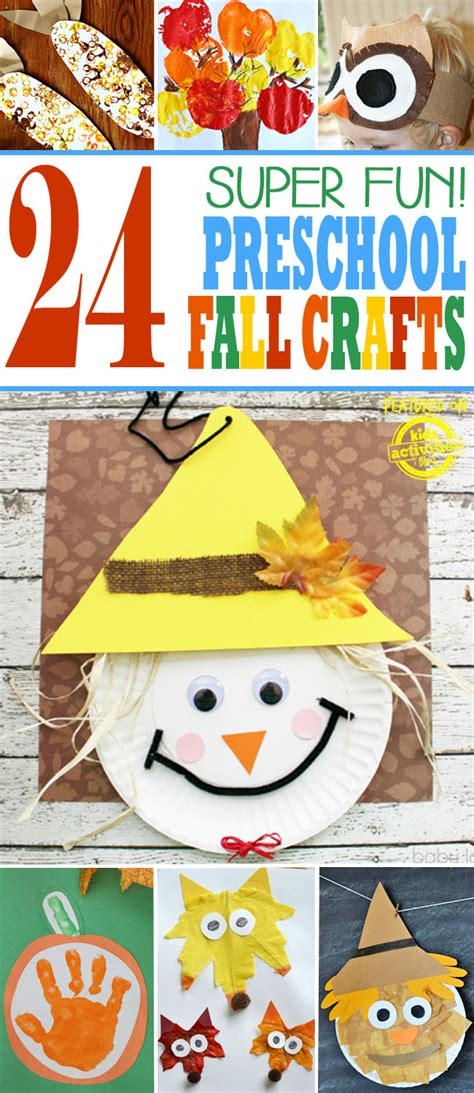 24 preschool fall crafts 228   preschool fall crafts pin