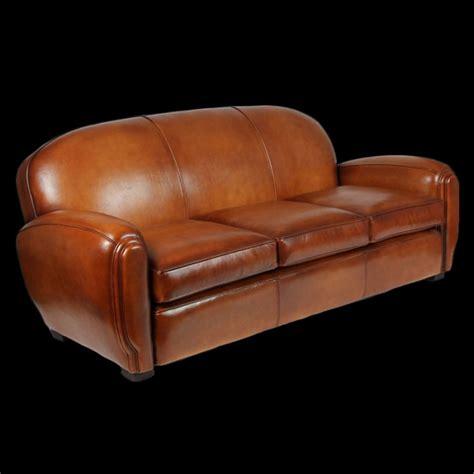 canapé en cuire canapé 3 places gabriel en cuir de basane longfield