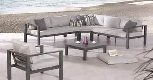 loungemobel garten alu vivaverdeco With französischer balkon mit aluminium garten lounge