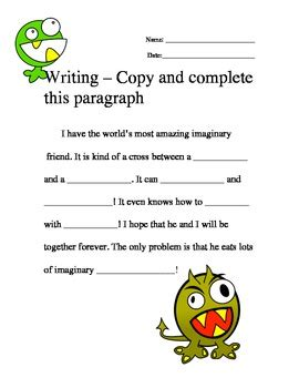 writing ad libs copy  complete  paragraph
