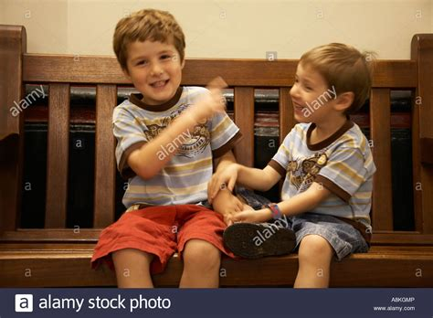 young boys children brothers wearing shorts