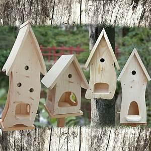 Vogelhaus Bauen Mit Kindern Anleitung : vogelhaus nistkasten bausatz vogelvilla zum selbst bemalen insektenhotel deko ebay ~ Watch28wear.com Haus und Dekorationen