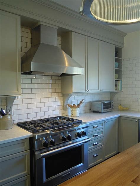 """A Builder Basic Kitchen Goes """"Bedford Gray""""   Hooked on Houses"""
