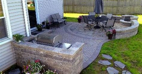patio designs with pit and tub home citizen