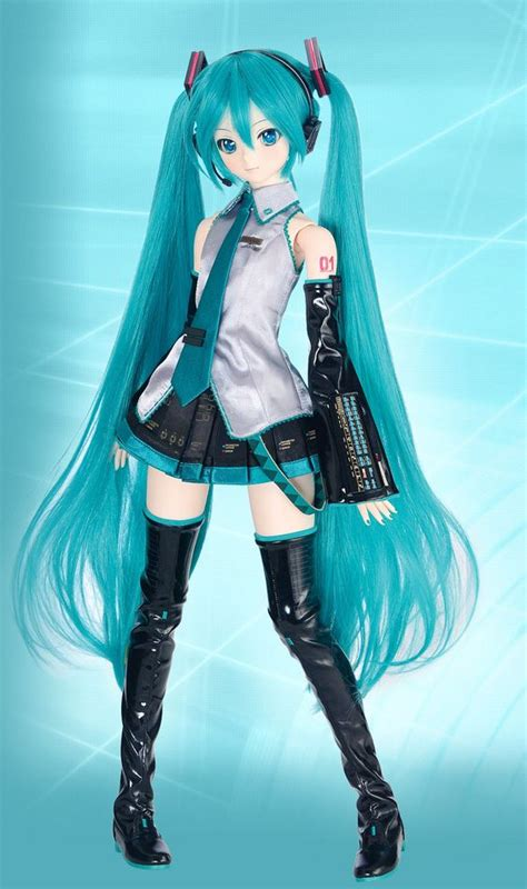 hatsune miku×dollfie dream r fan made pinterest beautiful toys and awesome