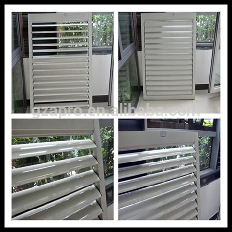 aluminum profile vertical aluminum louvres louvered