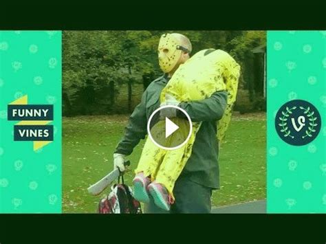 TRY NOT TO LAUGH - Funny HALLOWEEN VIDEOS & SCARE CAM in ...