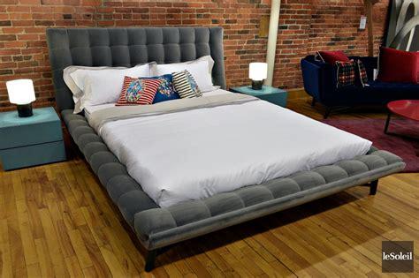 chambres a coucher roche bobois lit en tissu montreal