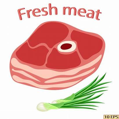 Pig Roast Vector Clip Meat Raw Pork
