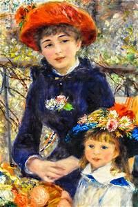 Pierre Auguste Renoir - Two Sisters (On the Terrace), 1881 ...