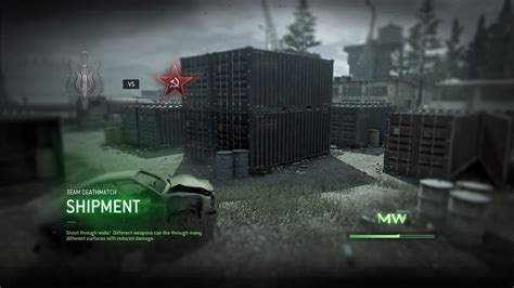 shipment map  modern warfare remastered  pure insanity