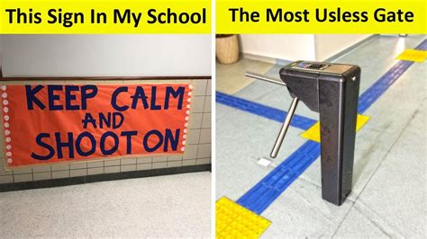 Design Fails by The Worst School Design Fails New Pics