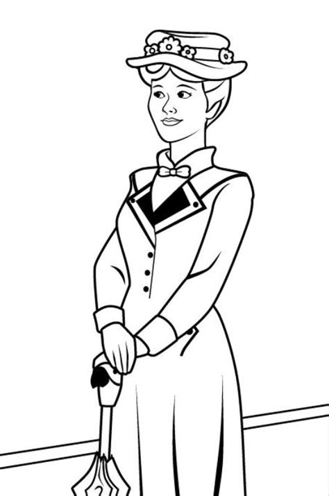 kids  funcom  coloring pages  mary poppins