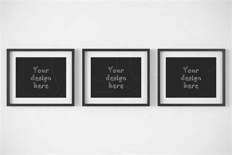 horizontal frames  mockup  psd mockups