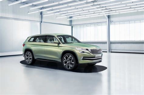 The Skoda Vision S Concept Can Be Had With Six Seats; Plug