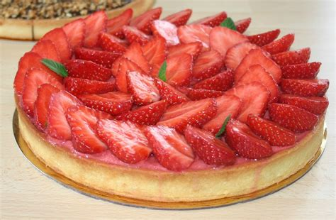 tarte aux fraises version hugo et victor la f 233 e chantilly