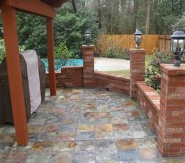 outdoor tile for patio slate home ideas