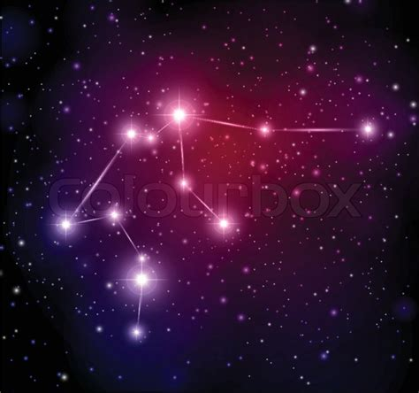 abstract space background  stars  aquarius
