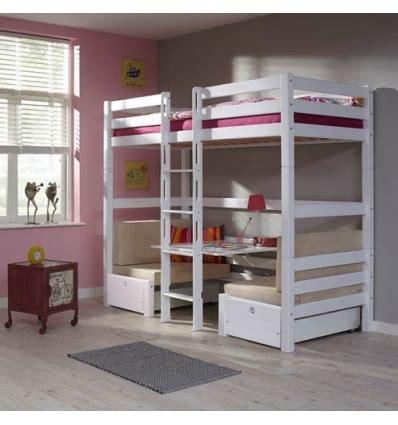 lit superposé bureau lits superposes enfants avec bureau