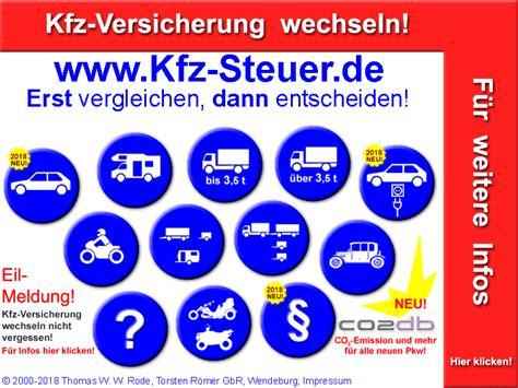 kfz steuer rechner neu  kostenlos fuer pkw auto lkw