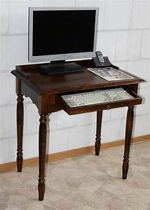 Sekretär 60 Cm Breit : massivholz sekret r mit tastaturauszug computertisch holz massiv kolonial ~ Bigdaddyawards.com Haus und Dekorationen