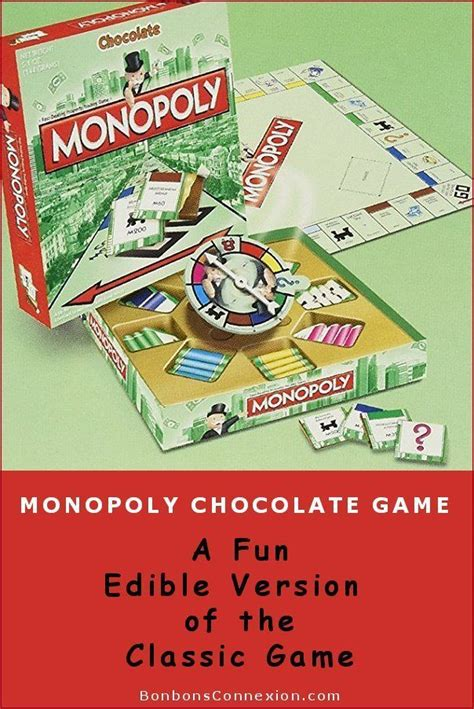 monopoly chocolate game    unique christmas
