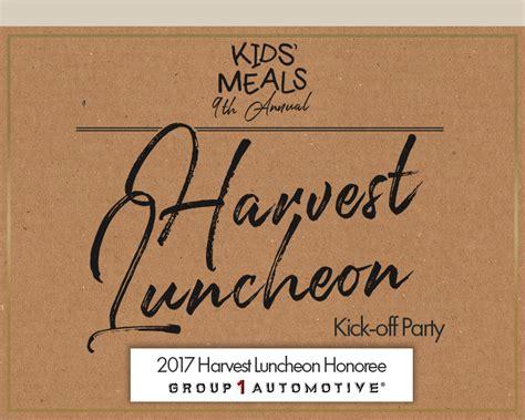 invitation   harvest luncheon kick  party