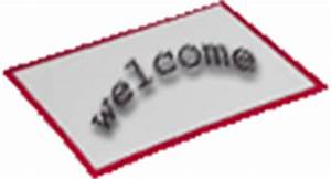 black & white Welcome Mat | Clipart Panda - Free Clipart ...
