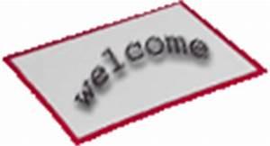 black & white Welcome Mat   Clipart Panda - Free Clipart ...