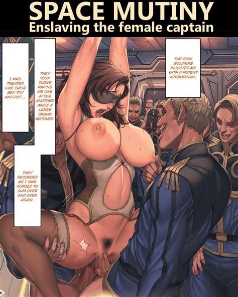Space Mutiny Enslaving The Female Captain Porn Comics