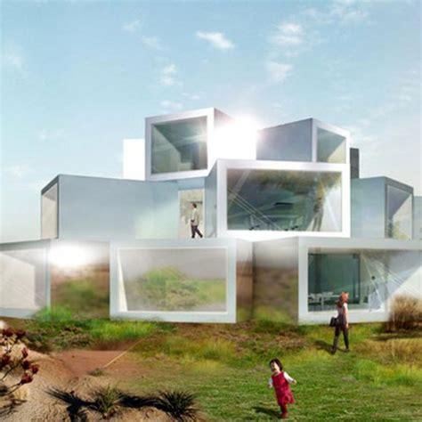 futuristic cubed architecture  ordos   julian de smedt architect viahousecom