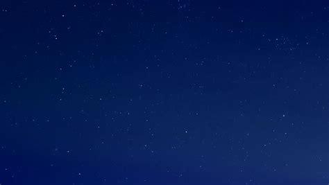 Starry Blue Night Sky Star Stock Footage Video 100